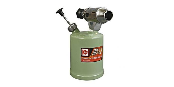 Паяльная лампа на бензине Калибр ЛП-1,5