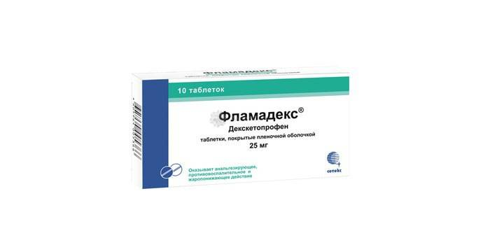 Таблетки Фламадекс