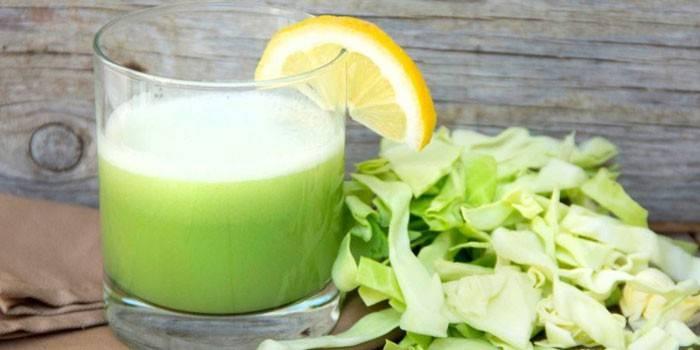 Капустный сок при похудении