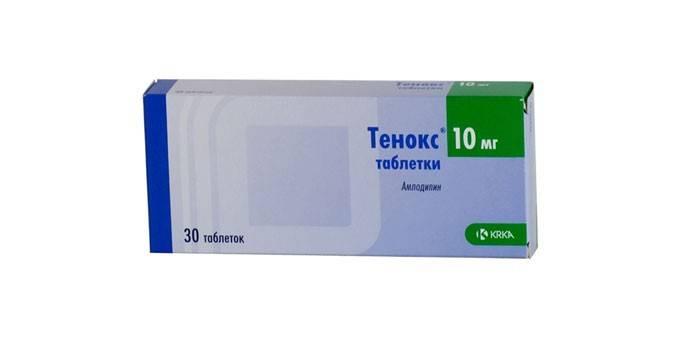 Таблетки Тенокс