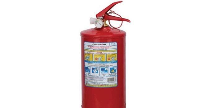 Порошковый огнетушительPhantom РН5205