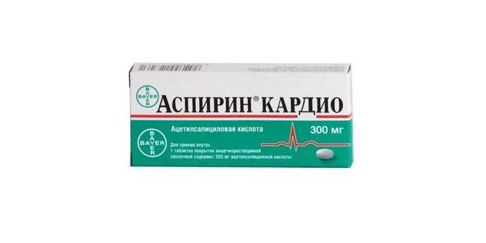 Препарат Аспирин Кардио