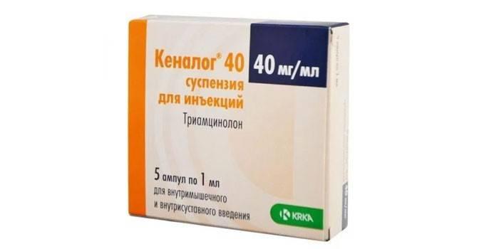 Кеналог препарат для уколов в глаза