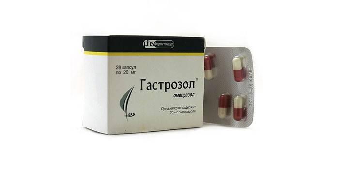 Гастрозол для лечения гастрита с осложнениями