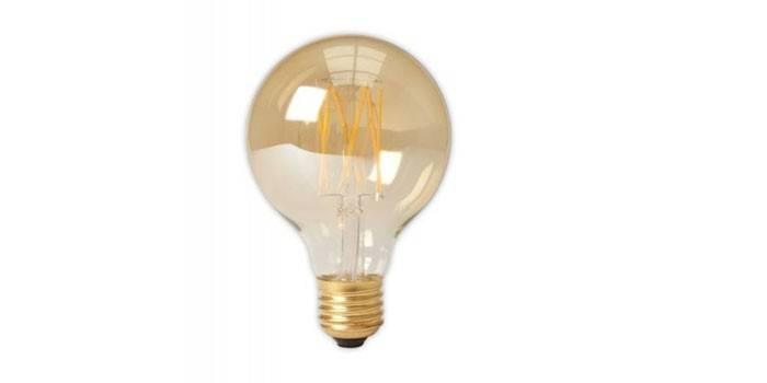 Лампа Эдисона Calex Goldline G80 E27