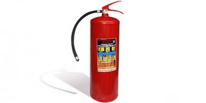 Огнетушитель для машины