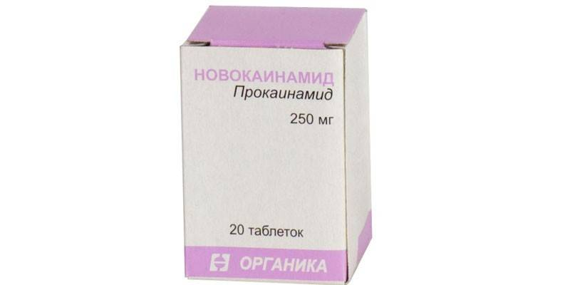 Таблетки Новокаинамид